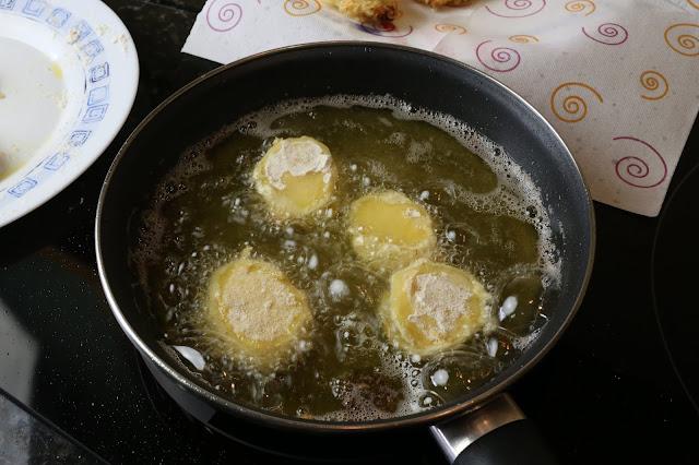 Preparación de patatas a la unión