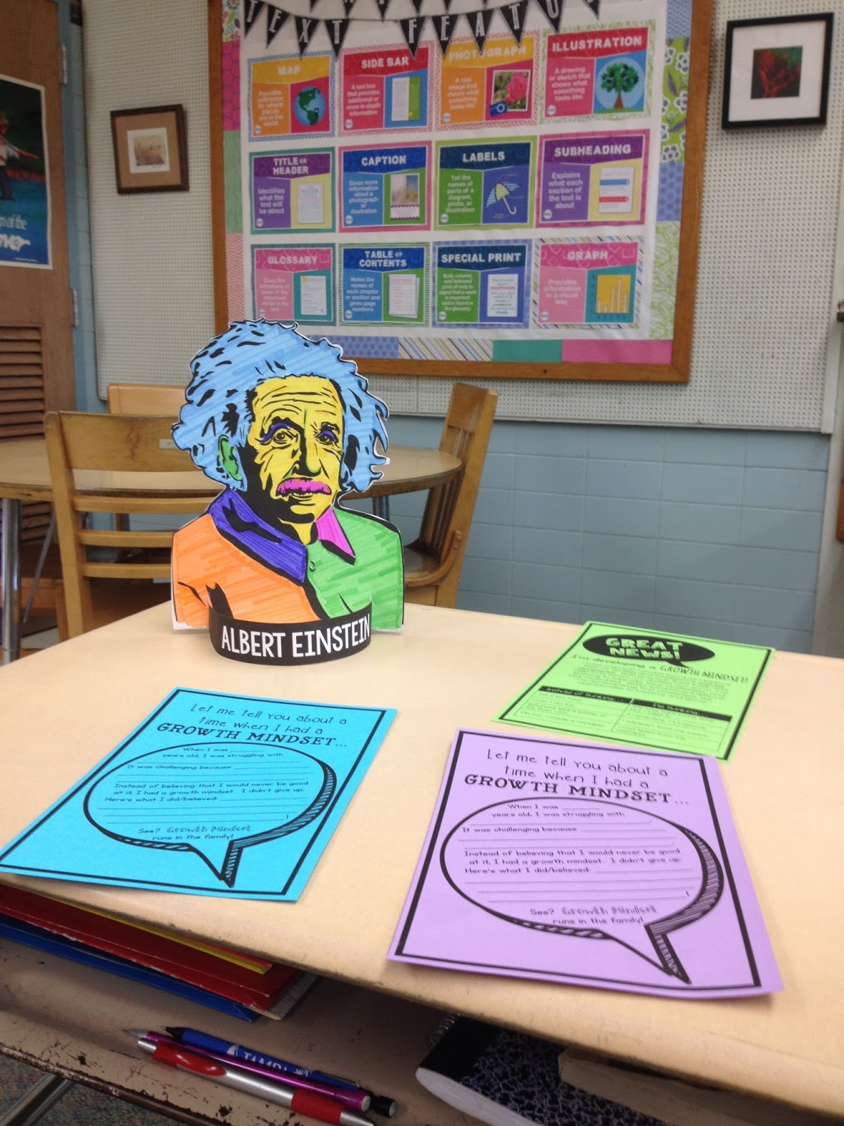 Brain Waves Instruction Growth Mindset Open House Projects
