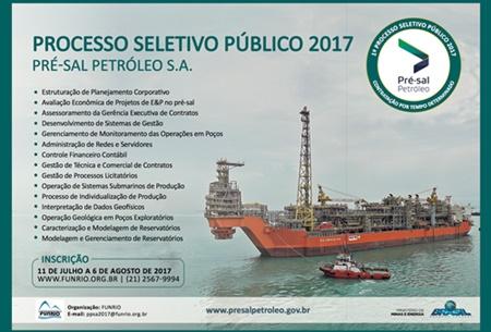 Concurso Pré-Sal Petróleo 2017