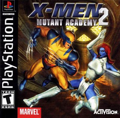 descargar por mega x men mutant academy psx