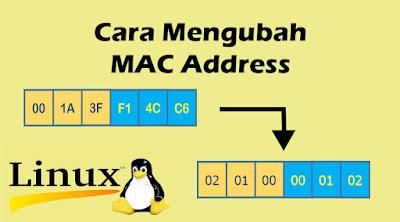 cara mengubah mac address pada linux