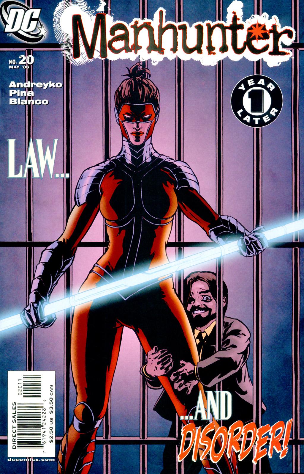 Manhunter (2004) issue 20 - Page 1