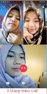 video call wa 3 orang
