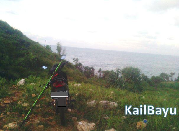 Spot mancinng pantai Ngrenehan Gunung Kidul