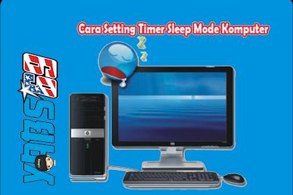 Cara Setting Timer Sleep Mode Komputer