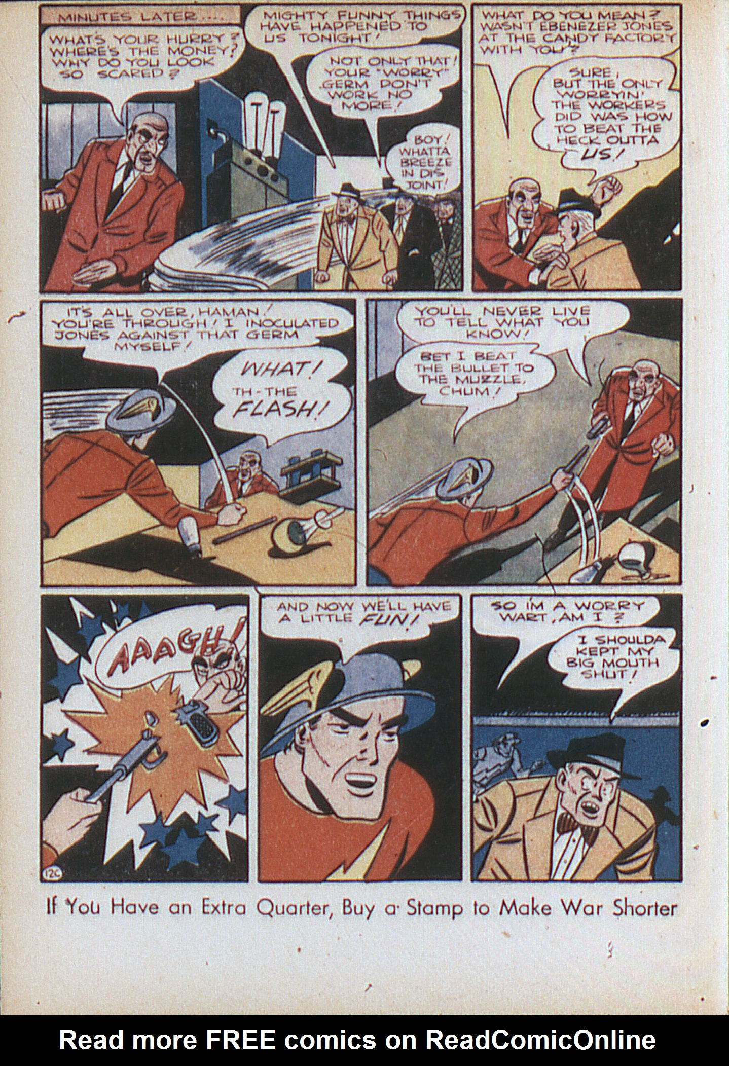 Read online All-Flash comic -  Issue #15 - 49