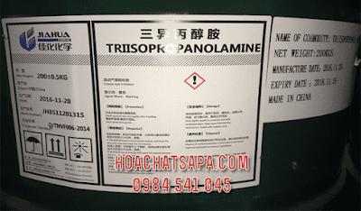 Triisopropanolamine TIPA chất trợ nghiền xi măng