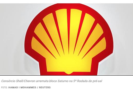 603478eb5d7 Consórcio Shell Chevron arremata bloco Saturno na 5ª Rodada do pré ...