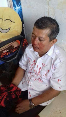 guru dipukul murid dan orangtua
