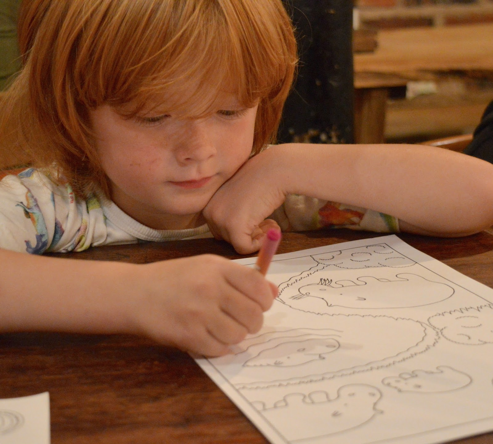 The Fat Hippo Underground with Kids | Simply the Best Burgers in Newcastle - kids colouring and activity sheets