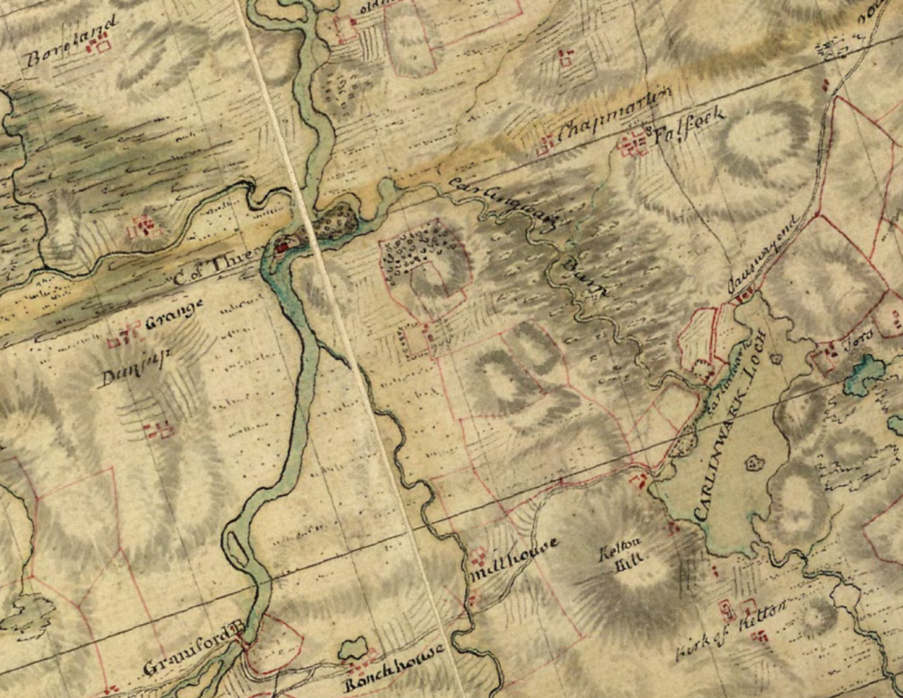 Last of the Westland Whigs: Old maps and the history of Castle Douglas