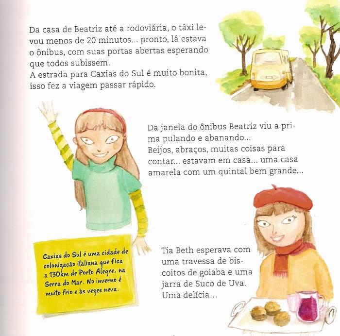 499a636693 LINGUAGEM E AFINS  As deliciosas férias de Beatriz  Estímulos ...