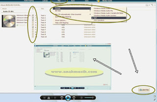 Cara Copy CD Audio Original ke Laptop atau Komputer