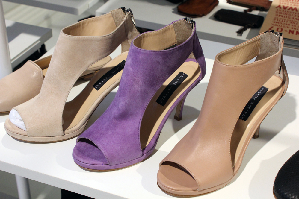 9f7b09cae0 MATCH star designer, Frank Remme, puts a high-quality signature and edge to  the spring and summer collection. Helene Westbye´s purple pastel sandals  are ...
