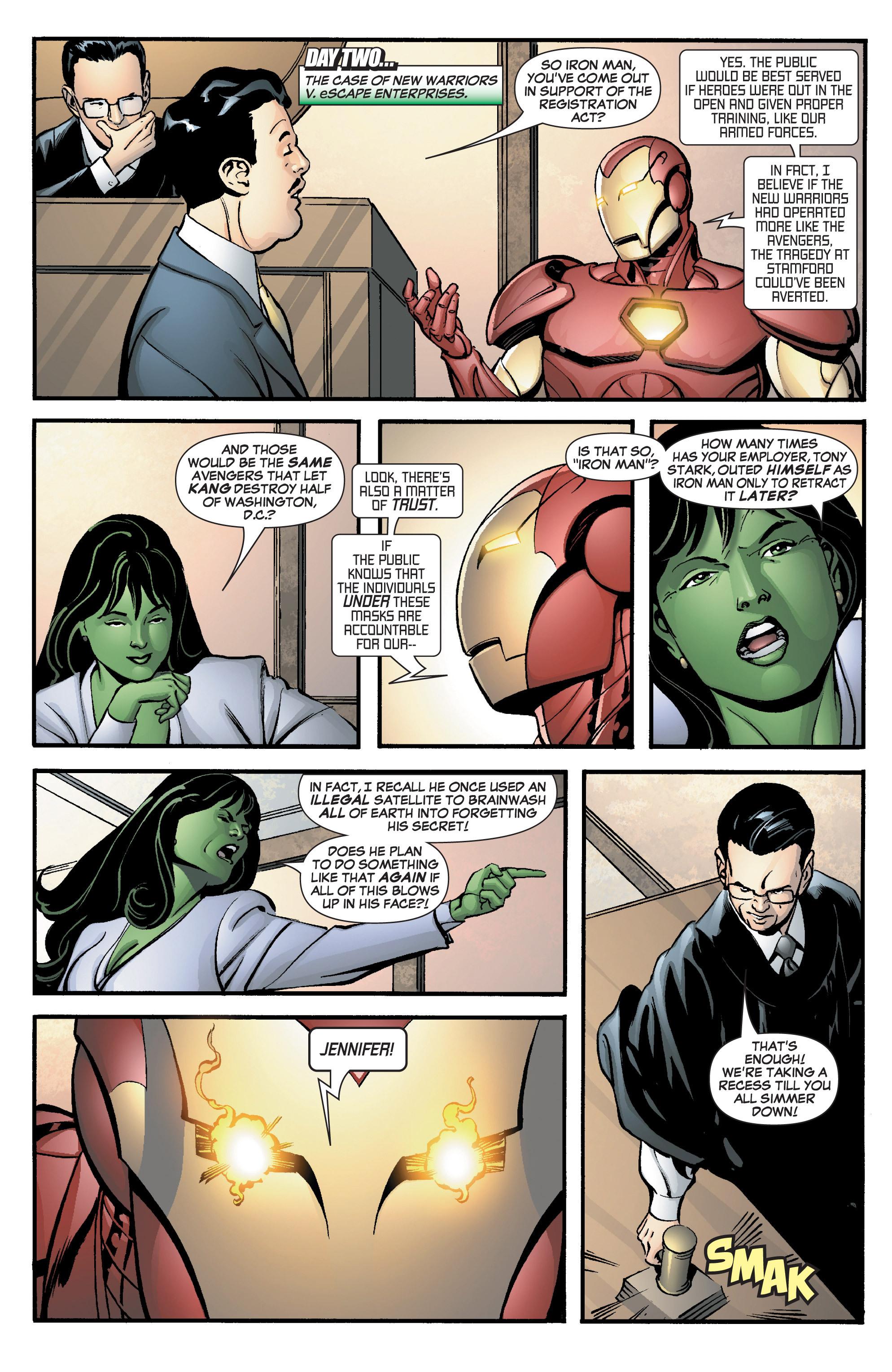 Read online She-Hulk (2005) comic -  Issue #8 - 19