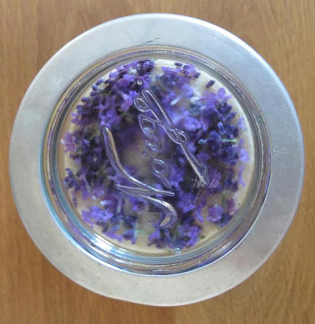 Foto 3: Lag ditt eget lavendelsukker.Norgesglass. Furulunden.
