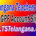TS Telangana AG GPF Account Slips Download