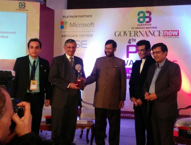 ITDC Awarded Best PSU for its CSR Initiative at Qutub Minar