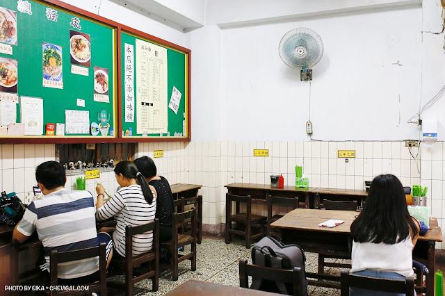 MG 5496 - 沙鹿拉仔麵,在懷舊的國小教室裡吃飯,月見豬油飯有可愛笑臉超療癒!