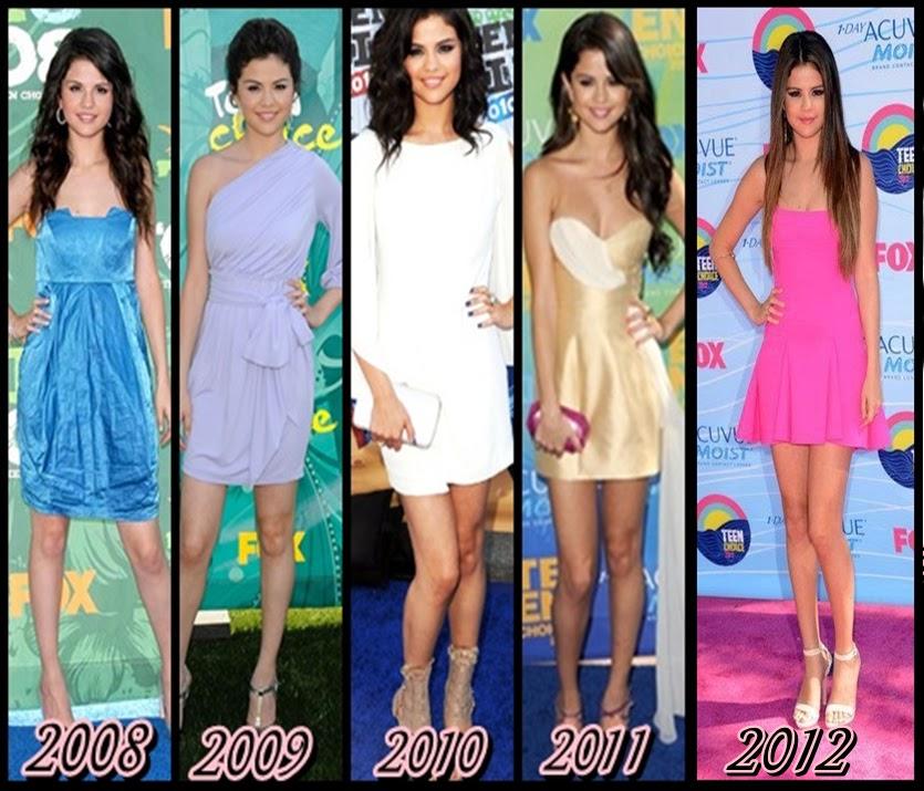 SG fã clube: Selena Gomez em todos os TCA