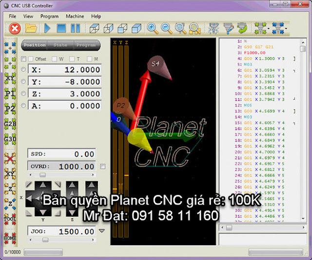 License Planet CNC giá rẻ