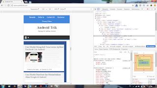 Tampilan dari Desktop ke Mobile 2