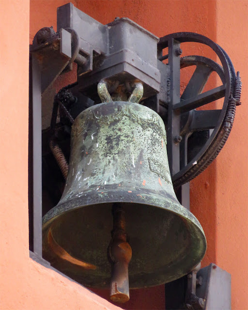 Bell of the church of Sant'Andrea, Via Galilei, Livorno