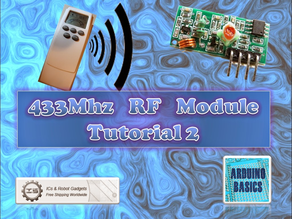 Arduino Basics 433 Mhz Rf Module With Tutorial 2 Ir Remote Control Extender Circuit Mark 5