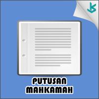 Putusan Mahkamah Konstitusi Nomor 65/PUU-VIII/2010 Tahun 2010