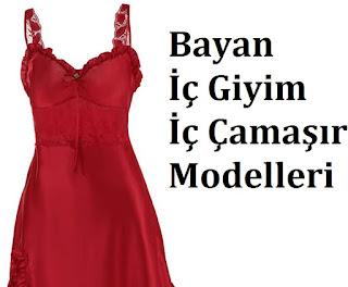 Bayan İç Giyim İç Çamaşır Modelleri