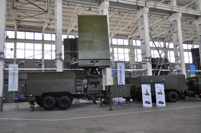 Укроборонпром представил новейшие высокоэффективные радары.