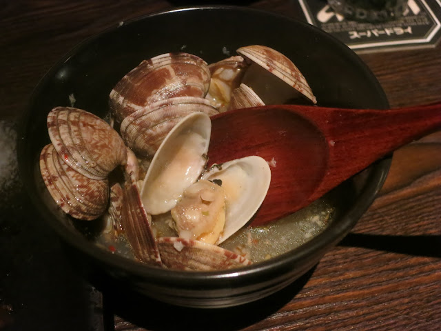 Asahi Clams in Garlic Butter Dashi