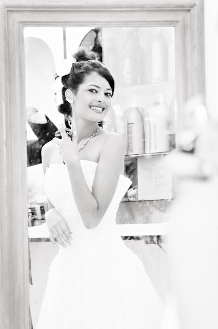 Fotos de noiva com o espelho