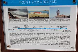 Ruta de Elena Soriano por Suances