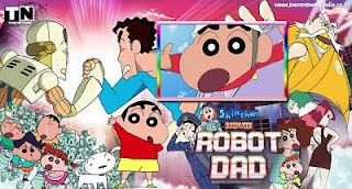 Shinchan Robot Dad Hindi Cartoon Movie Download HDRip