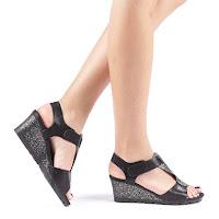 Sandale dama Andra negre