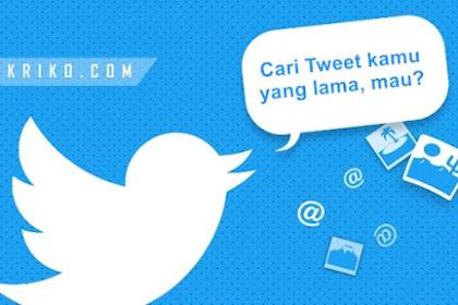 Cara Mencari Tweet Lama di Twitter