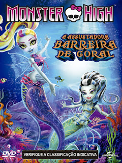 Monster High: A Assustadora Barreira de Coral - BDRip Dublado