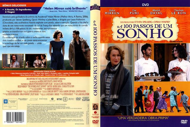 Capa DVD A 100 Passos de Um Sonho