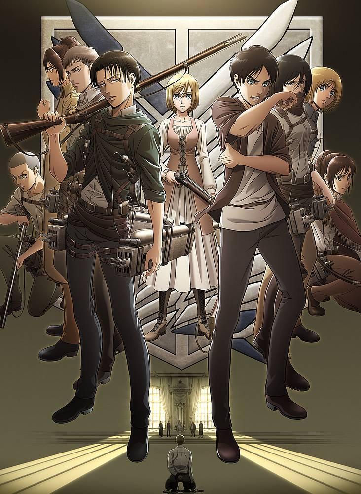 تقرير انمي Shingeki no Kyojin s3 (الموسم الثالث)