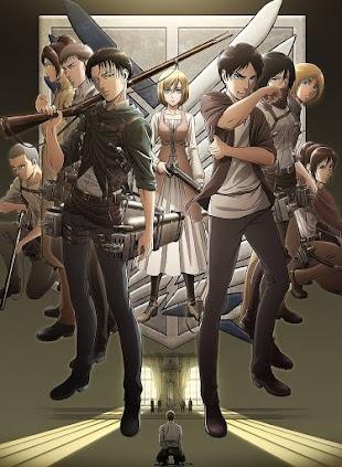تقرير انمي Shingeki no Kyojin s3 الموسم الثالث
