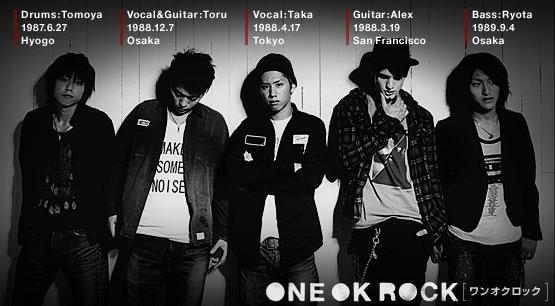 Kumpulan Lagu One Ok Rock