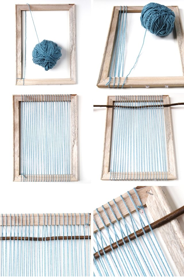 How to make your own Diy Woven Wall Hanging