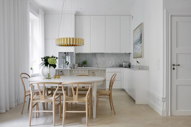 Eleganță scandinavă într-un apartament de 64 m²