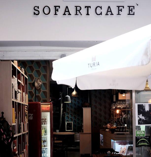 Sofartcafé: libros, peques y pasta. Ademas de muchas cosas más