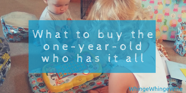 What to buy the one-year-old who has it all: first birthday present rules and ideas