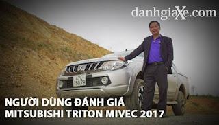 Người dùng đánh giá Mitsubishi Triton MIVEC