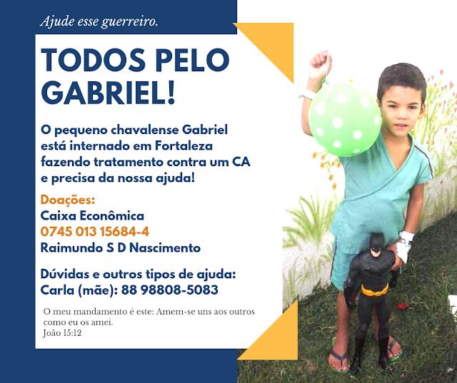 Vamos ajudar o Gabriel!