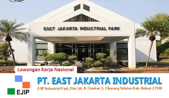 Lowongan Kerja PT East Jakarta Industrial Park (EJIP) Bagian Accounting & Tax Staff