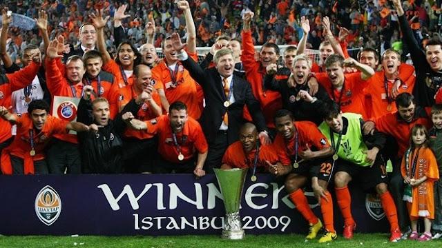 Copa da UEFA 2008/09: a consagração do Shakhtar